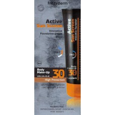 FREZYDERM ACTIVE SUN SCREEN BODY FOUNDATION SPF 30 Αντηλιακό Make-up για το Σώμα 75ml