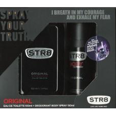 STR8 Σετ Body refresh original 150ml + κολώνια 100ml