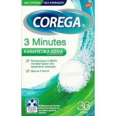 COREGA EXTRADENT 3 minutes TABL,x32
