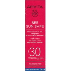 APIVITA BEE SUN FACE CREAM-GEL SPF30 50ML