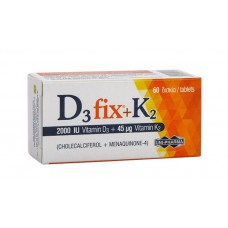 UNIPHARMA D3 FIX 2000IU+K2 45MG 60TAB