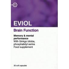 Eviol Brain Function Συμπλήρωμα διατροφής 30 tabs.