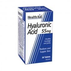 HEALTH AID HYALURONIC ACID 55MG 30TABL
