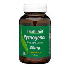 HEALTH AID PYCNOGENOL 30MG 30TABL