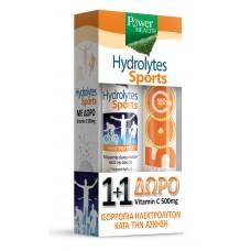 Power Health Hydrolytes Sports eff tabl. bt. x20+ Vitamin C 500mg eff tabl. bt. x20.