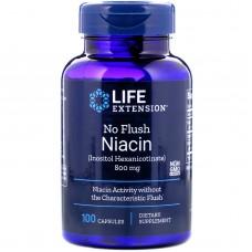 LIFE EXTENSION NO FLUSH NIACIN 800MG X 100CAPS