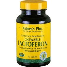Nature's Plus Lactoferon chewable tabl. bt. X 90