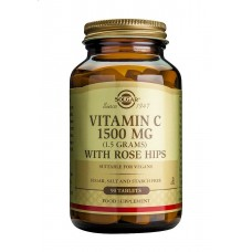 SOLGAR VITAMINE C WITH ROSE HIPS TABL.BT. 90X1500mg