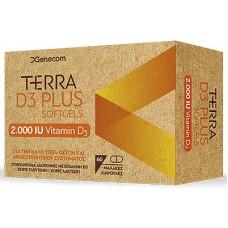 TERRA D3 PLUS 2000IU 60CAPS
