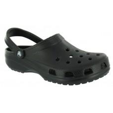 Παντόφλες πλαστικές τύπου crocs μαύρες Νο 40-41