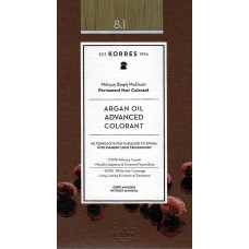 Korres Advanced Colorant 8.1 Ξανθό Ανοιχτό Σαντρέ
