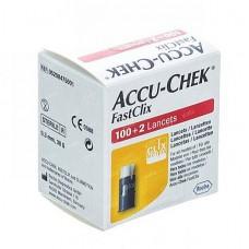 ACCU-CHEK FASTCLIX LANCETS BT X102