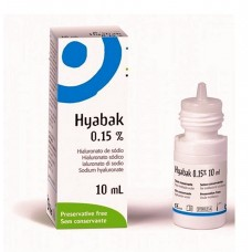 HYABAK PROTECTOR EYE SOL,0,15% X 10ml
