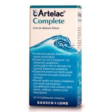 ARTELAC COMPLETE EYE DROPS 10ML