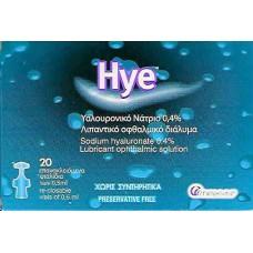 HYE MONODOSE 0,4% 20x0,5ml (ΥΑ