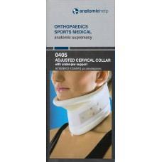ANATOMIC HELP Adjusted Cervical Collar ΑΥΧΕΝΙΚΟ ΚΟΛΑΡΟ ΡΥΘΜΙΖΟΜΕΝΟ ΜΕ ΥΠΟΣΑΓΟΝΙΟ.XL(42-46)COD.0405