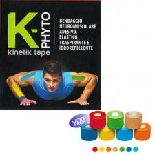K-PHYTO Kinetik Tape 5cm x 5m  Μπλέ 1 Τεμ.