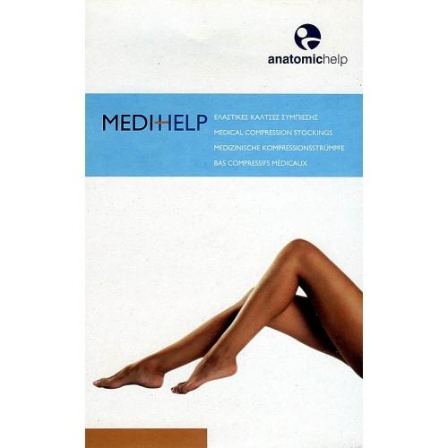 Medihelp Kάλτσα Κάτω Γόνατος (ανοιχτά δάχτυλα) CLASS I μαύρη AF 00-2313 AF  00-2313 small e882d54ded7