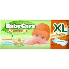 Babycare Chamomile XL 20 X 22 CM 54τεμ