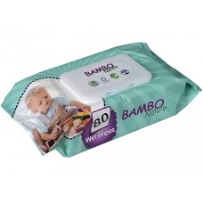 BAMBO NATURE WET WIPES 80 PIEC.