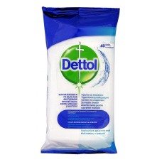 DETTOL ΥΓΡΑ ΜΑΝΤΗΛΑΚΙΑ 40CLEAN WIPES