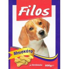 Filos μπισκότα με κοτόπουλο για σκύλους 600gr